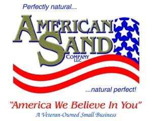 American Sand complete logo